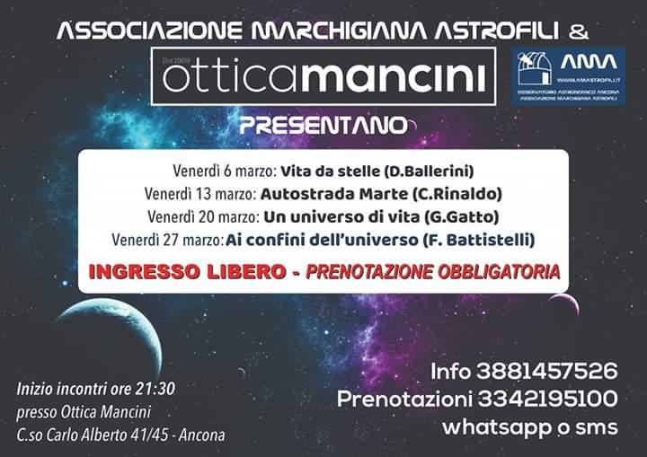 Conferenze Astronomia