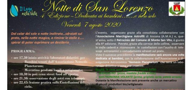 Notte di San Lorenzo – 7 agosto